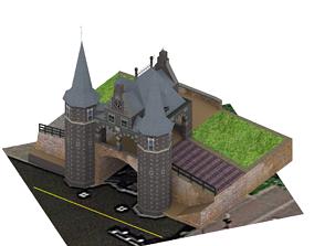 Waterport model game ready 3D asset