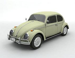 3D 1960s Volkswagen Bug Beetle