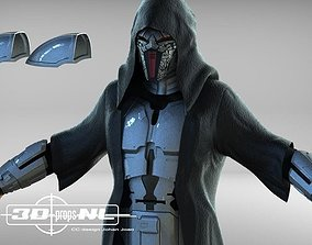 Sith Acolyte Eradicator Armour SWTOR 3D print model