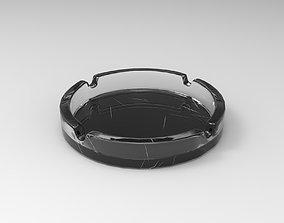 porcelain Ashtray 3D asset realtime
