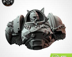 3D print model WOLFFANG Bust