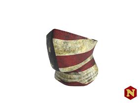 Mask Half Balaclava USA 3D model