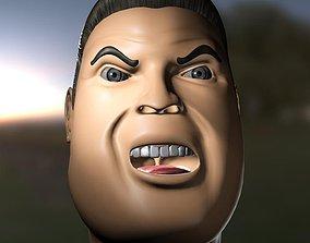 JJM - TOON FACE 3D model