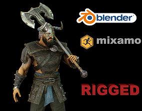 viking 2 3D asset