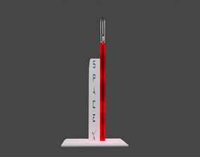 3D model Light Rocket