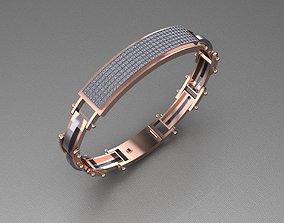 3D printable model 029 - Gents Bracelet Hiphop