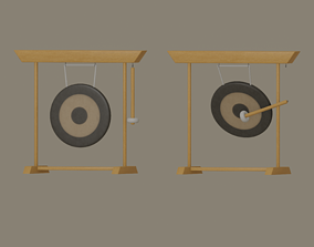rigged Gong model