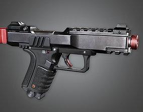 MHG - Dorn MK2 Modern Handgun - PBR Game Ready 3D model