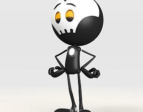 Morton cartoon bot 3D