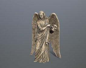 Angel Statue 3 3D asset