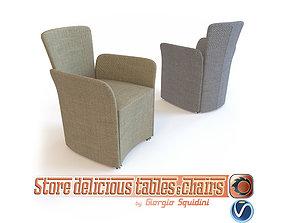 3D asset Chair NIDO CALLIGARIS