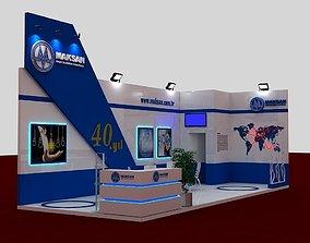 3D Mak Exhibit Fair Stand