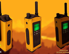Portable radio - Walkie Talkie 3D asset