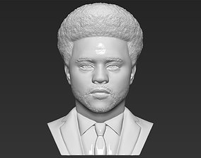 The Weeknd bust 3D printing ready stl obj formats