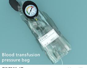 3D Blood transfusion pressure bag
