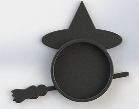 3D print model Witch Coaster