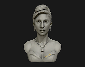 3D printable model Lady Gaga sculpture Ready to