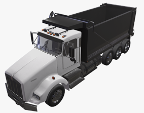 Kenworth T800 Dump Truck 3D model