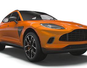 Aston Martin DBX North America 2021 3D