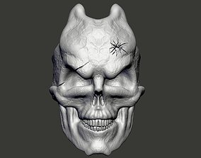Skull Damage Ring 3d print model Free of charge for the