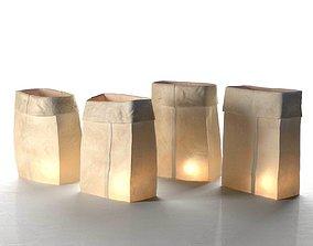 Farolitos Lights 3D model