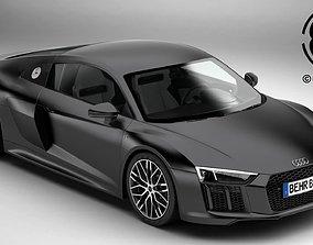 3D model Audi R8 V10 2016