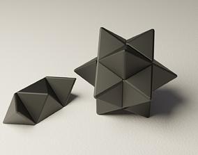 Logic puzzle star 3D printable model