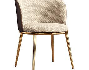 3D asset Contemporary chair 105
