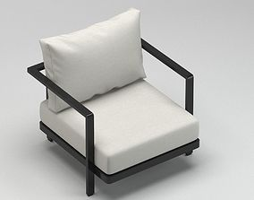 Royal Botania outdoor chair 3D