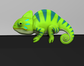 3D printable model Chameleon for Monitor Climb STL