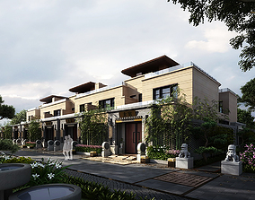 3D model villa 037