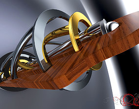 Kinetic Sculpture 3D model