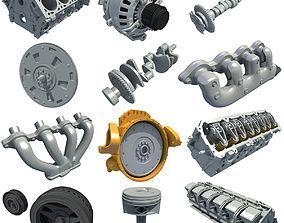 12 Engine Part Models