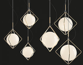 3D asset Jack Olantern Brokis Pendant Light By Lucie