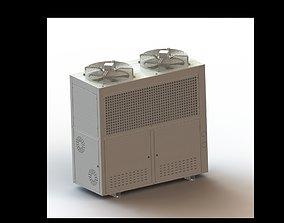 3D model Cooling Pack Unit Cabinet