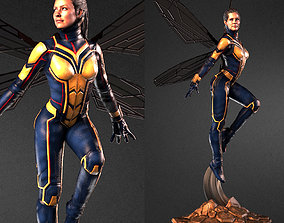 3D printable model The Wasp - Evangeline Lily