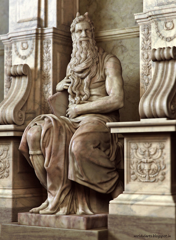 Moses of Michelangelo
