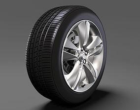 3D Vauxhall Combo Tour wheel 2017