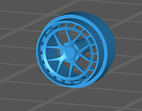 ZMO Style Rims Hotwheels Real Riders 3D printable model