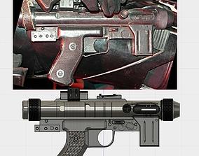Star Wars SE-14R Blaster 3D printable model