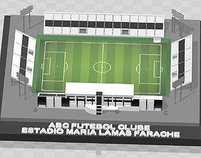 3D print model ABC Futebol Clube - Estadio Maria Lamas