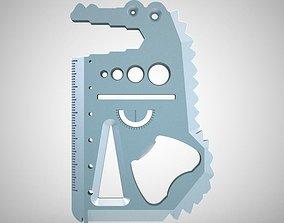 Crocodile Multi Tool 3D print model