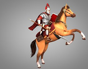 3D model Roman Horseman