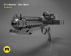 3D print model The Blaster E-11 - Star Wars