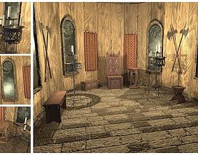 3D asset Medieval Decoration Pack