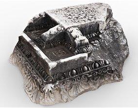 3D asset Perge Ancient Rock 5