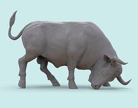 3D print model Bull on the Corrida