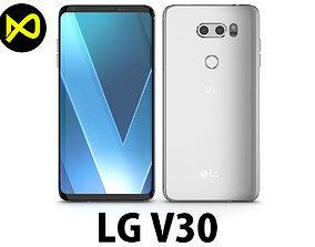 3D model LG V30 Cloid Silver