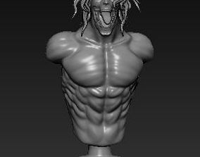 3D printable model Eren Titan Bust