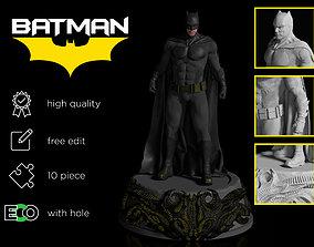 Batman figure Ben Affleck 3D printable model
